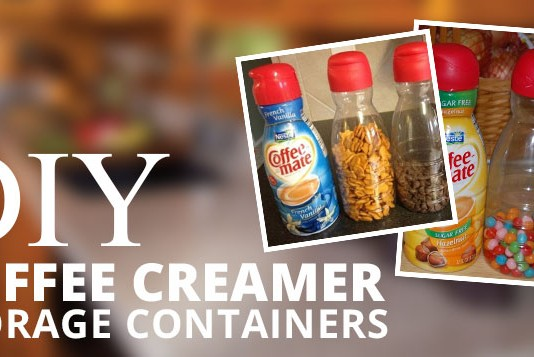 Coffee Creamer Storage Containers