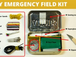 DIY Emergency Field Kit