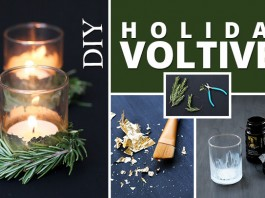 DIY Holiday Voltives