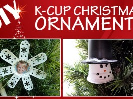 DIY K-Cup Christmas Ornaments