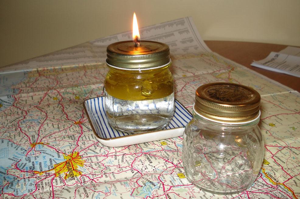 DIY Emergency Oil Lamp - Definitely DIY