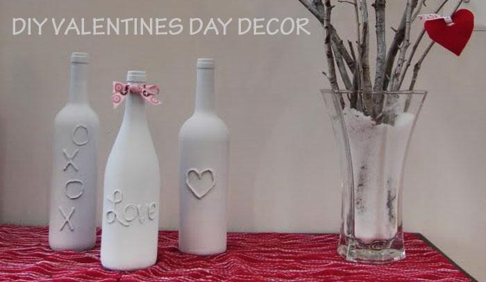 wine bottle valentines decor definitely diy