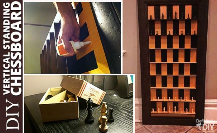 DIY Vertical Standing Chessboard