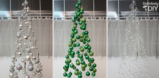 DIY Floating Christmas Tree