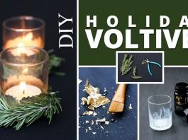 DIY Holiday Voltives