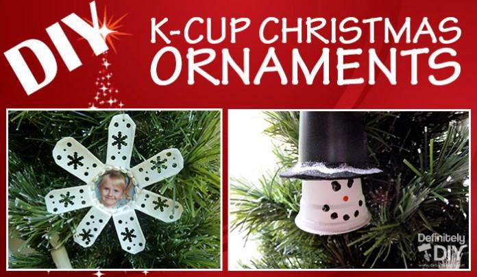 DIY K-Cup Christmas Ornaments