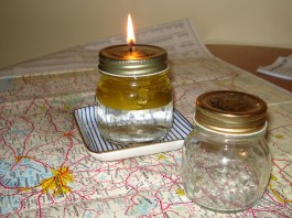 DIY Oil Lamp