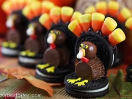 DIY Oreo Turkeys