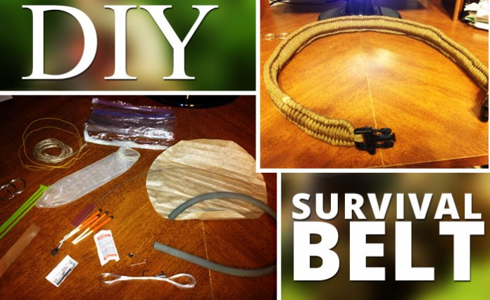 DIY Paracord Survival Belt