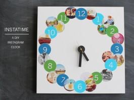 DIY Photo Clock
