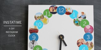 DIY Photo Clock