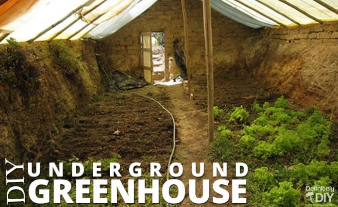 DIY Underground Greenhouse
