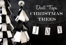 DIY Duct Tape Christmas Tree