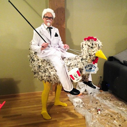 Colonel-Sanders-Chicken-Riding-Halloween-Costume